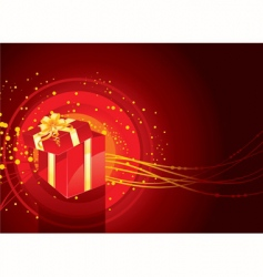 present box vector image vector image