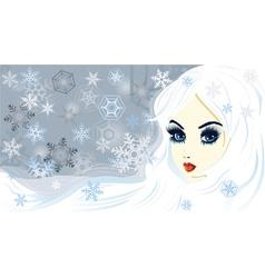 Snow queen vector