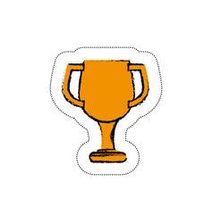 Trophy icon image vector