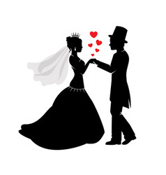 wedding and love vector image vector image