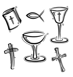 Religion set vector
