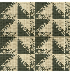 Rough edges textile print vector
