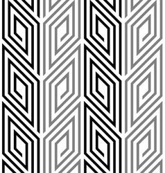 3d rhombus spirals geometric optical black and vector