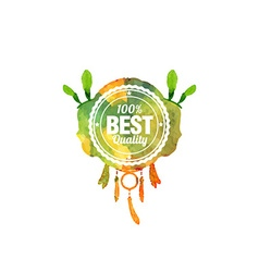 Best quality watercolor vector