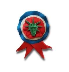 Ribbon badge vector image vector image