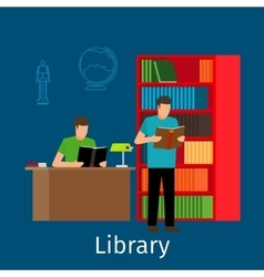 Reading in library vector