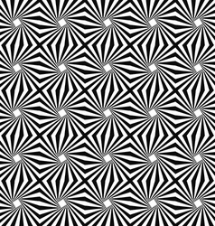 Seamless monochromatic stripe pattern design vector