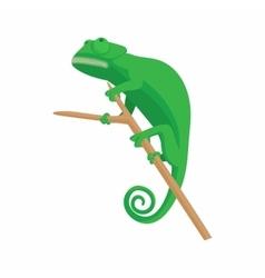 Lizard icon cartoon style vector