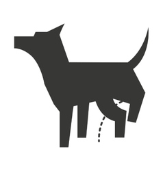 Cute dog isolated icon design vector