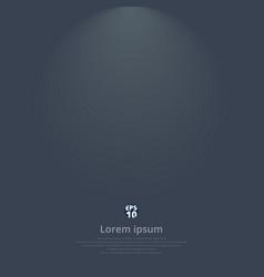 dark gray gradient modern elegant with lighting vector image