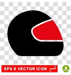 Motorcycle helmet eps icon vector