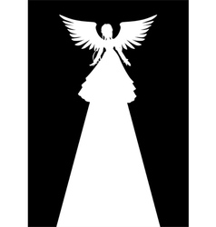 Angel light vector
