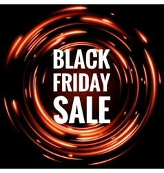 Black Friday Sale EPS 10 vector image vector image