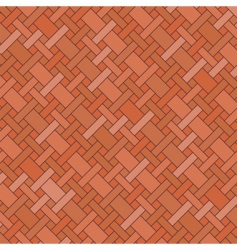 brick floor vector image