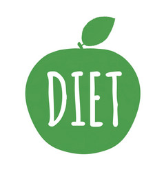 Diet label vector
