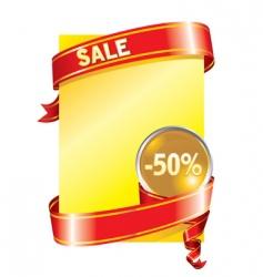 festive sale background vector image vector image