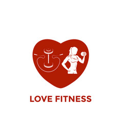 Fitness emblems logo design vector