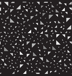Gray and black right triangle pattern seamless vector