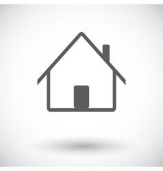 Home single icon vector