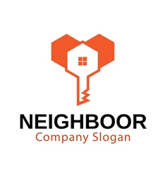 Neighboor Design vector image vector image