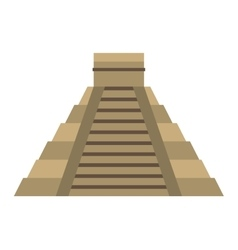 Pyramid egypt isolated icon vector