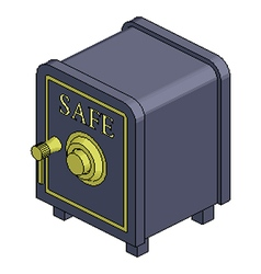Safe vector image
