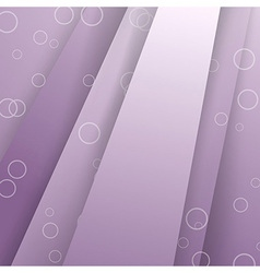 Modern layered purple background template vector