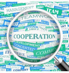 Cooperation vector