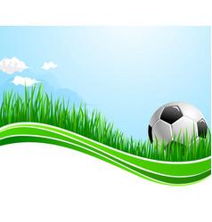 Football soccer sport arena background vector