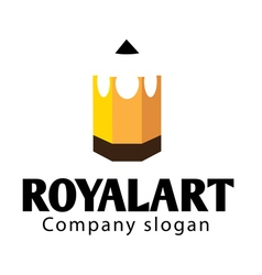 Royal art design vector