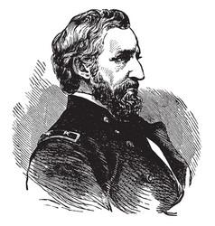 william starke rosecrans vintage vector image vector image