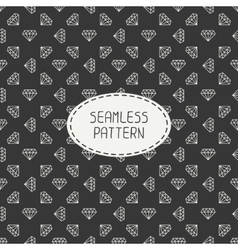 Geometric seamless retro pattern with vector