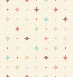 Color seamless textured diamond pattern vector image vector image