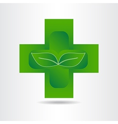 Green pharmacy 001 vector