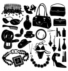 women design elements vector image