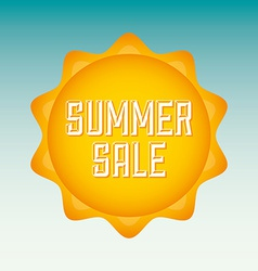 summer sale vector image