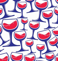 Winery theme seamless pattern decorative stylish vector
