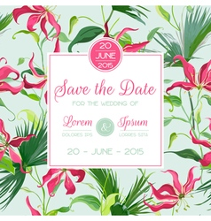 Invitation congratulation card - for wedding vector