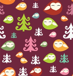 forest birds vector image vector image