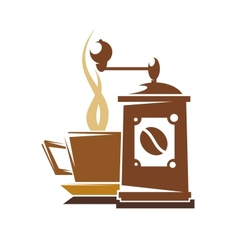 Fresh full roast coffee vector image vector image
