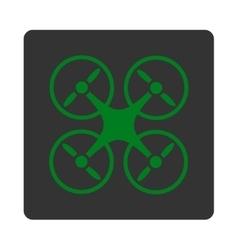 Nanocopter icon vector