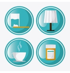 Rest icon design vector