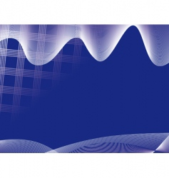 high-tech background vector image