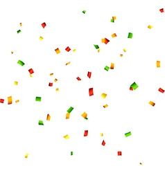 Confetti celebration background vector image vector image