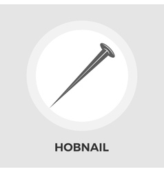 Hobnail flat icon vector