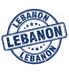 Lebanon stamp vector