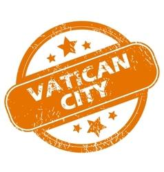 Vatican city grunge icon vector