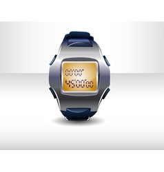 Sport timer vector image