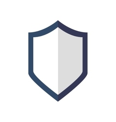 Shield icon security and protection care vector