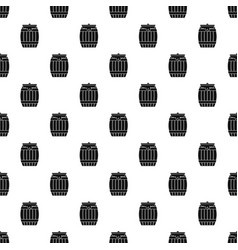 Honey keg pattern vector